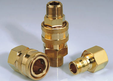 Flexible High Flow Hydraulic Quick Couplers , LSQ-RD Japanese Type High Flow Coupler